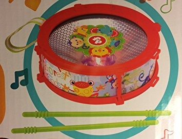 juguete fisher price mini tambor con efectos de luz por mat