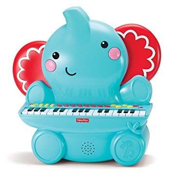 juguete fisher price music piano elefante