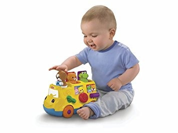 juguete fisher-price musical pop up autobús
