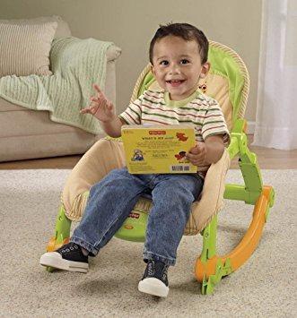 juguete fisher-price recién nacido-a-niño rocker portátil