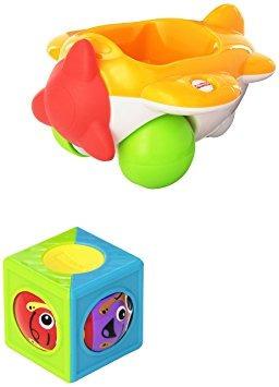 juguete fisher-price rodillo bloques avión