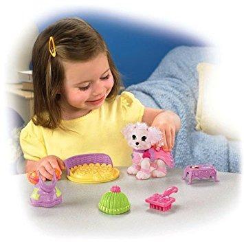 juguete fisher-price snap 'n style admiten cheri caniche