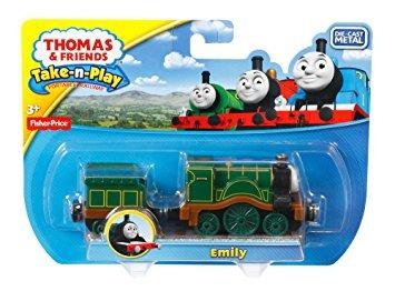 juguete fisher-price thomas el tren take-n-play emily