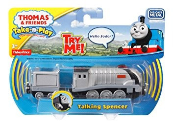 juguete fisher-price thomas el tren take-n-play hablar spen