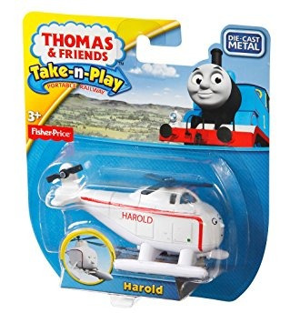 juguete fisher-price thomas el tren take-n-play harold