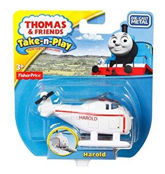 juguete fisher-price thomas el tren take-n-play harold