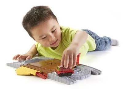 juguete fisher-price thomas el tren take-n-play track tirón