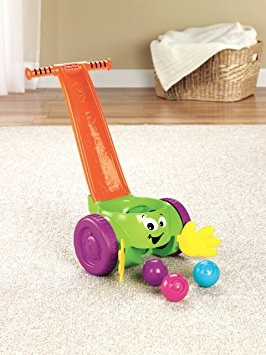 juguete fisher-price y la cucharada de giro popper
