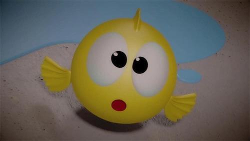 juguete flipper flappin shine atrapa los peces con los pies