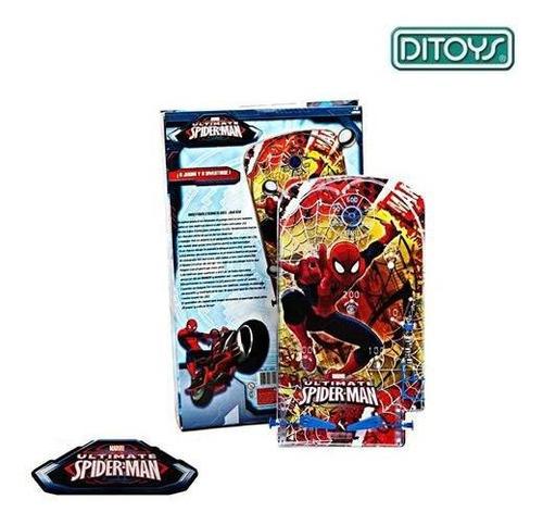 juguete flipper spider man ditoys 1518 original+cuota
