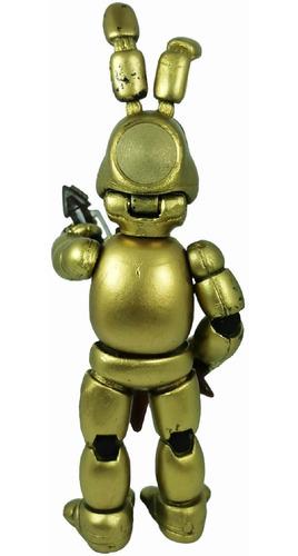 juguete fnaf golden bonnie five night at freddys figura 24cm
