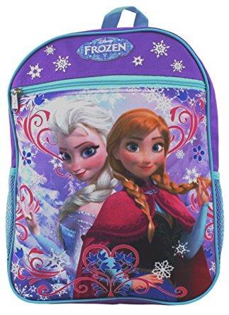 juguete frozen princesa elsa y anna morral de la escuela