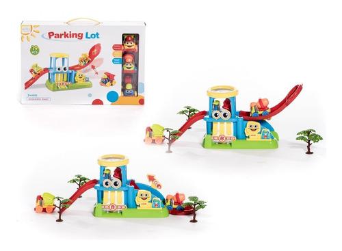 juguete garage estacion de servicio accesorios autitos +3año