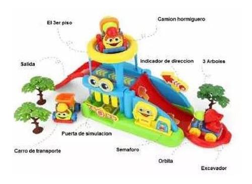 juguete garage estacion servicio