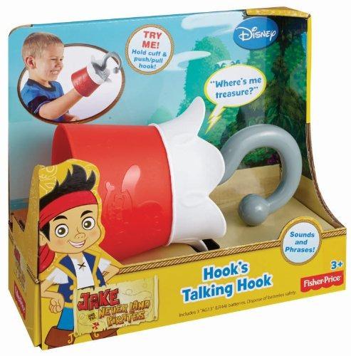 juguete garfio parlanchin fisher price