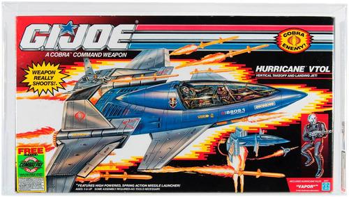 juguete gi joe cobra hurricane 1990 coleccionistas nave