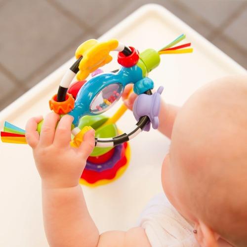 juguete giratorio para mesa de comer infanti toys
