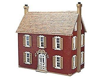 juguete greenleaf willow dollhouse kit - escala de 1 pulgad