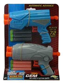 juguete guerreros de aire ultra-tek gem desintegradores 2-p