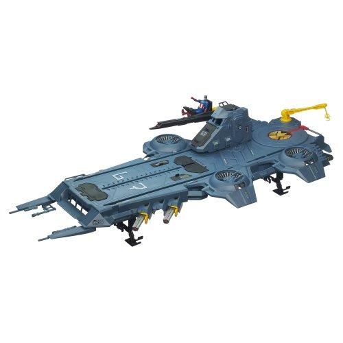 juguete helicarrier avengers gris