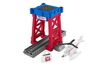 juguete helipuerto de fisher-price thomas el tren de trackm