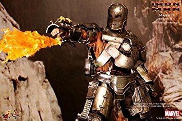 juguete hot toys - iron man película obra maestra de la fig