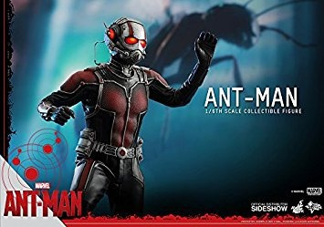 juguete hot toys marvel hombre hormiga de scott lang paul r