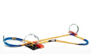 juguete hot wheels 10-en-1 determinado de la pista