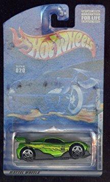 juguete hot wheels 2001 first edition #020 green ms-t suzuk