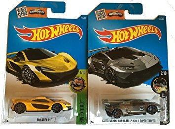 juguete hot wheels 2016 mclaren p1 amarillo