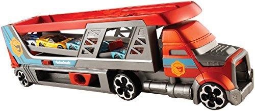 juguete hot wheels ciudad ráfaga rojo