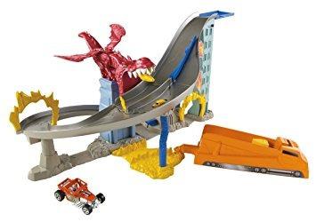 juguete hot wheels dragón destructor determinado de la pist