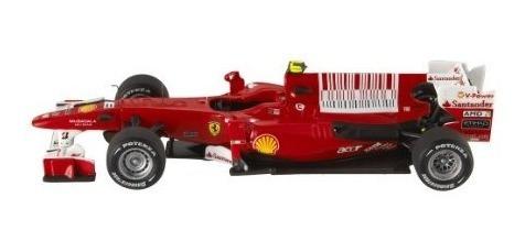 juguete hot wheels elite ferrari f1 coche conducido por el
