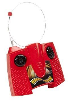 juguete hot wheels r / c terrain vehicle twister (rojo) con