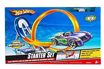 juguete hot wheels set inicial límite de pista