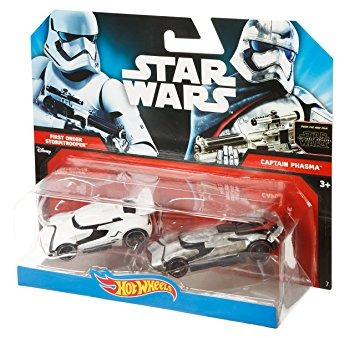 juguete hot wheels star wars la fuerza del personaje despie