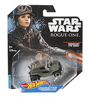 juguete hot wheels star wars rogue uno de los personajes de