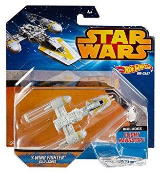 juguete hot wheels star wars starship y-ala vehículo