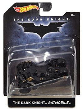 juguete hot wheels the dark knight batimóvil vehículo