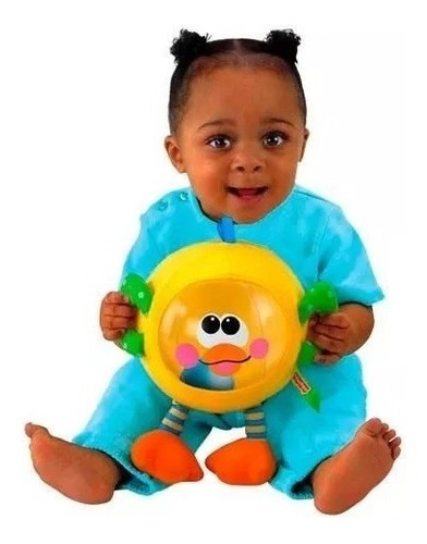 juguete infable sonido textura  fisher-price babymovil t5126