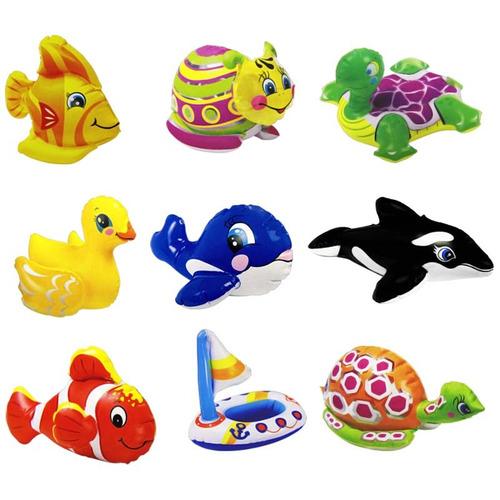 juguete inflable de tina animales para niños intex