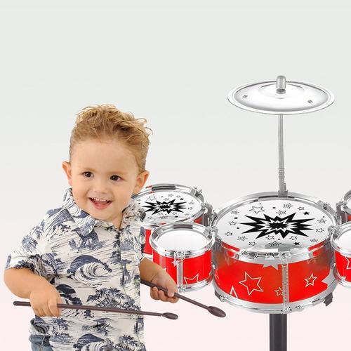 juguete instrumento batería