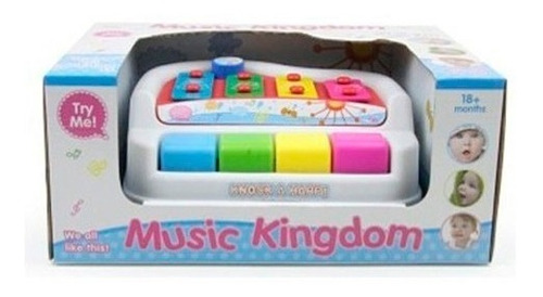 juguete instrumento musical xilofon y piano