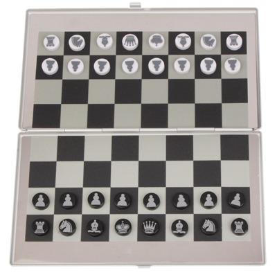 juguete inteligencia ajedrez aleacion aluminio portatil