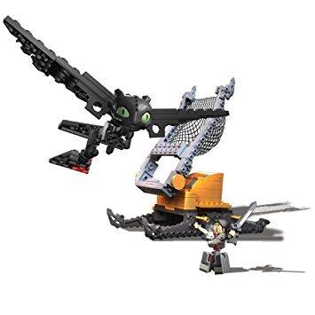 juguete ionix cómo entrenar a tu dragón 2 - desdentado ataq