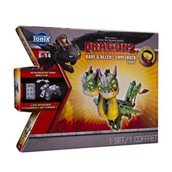 juguete ionix dragones cómo entrenar a tu dragón 2 barf y e