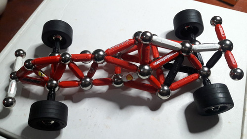 juguete italiano supermag magnetic genius ferrary f1