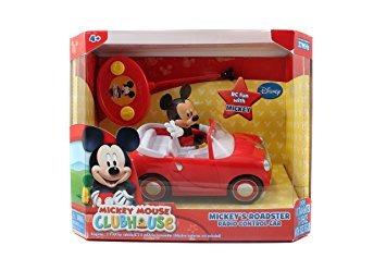 juguete jada toys disney mickey mouse r / c del vehículo
