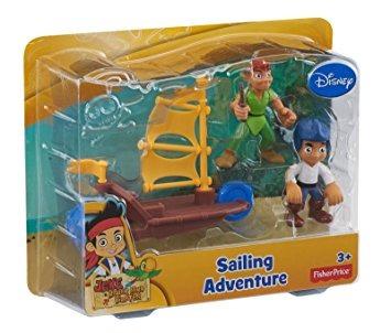 juguete jake de fisher-price disney y the neverland piratas