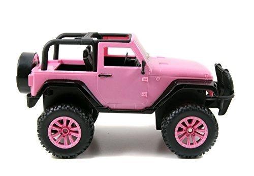 juguete jeep wrangler carro a control remoto niñas